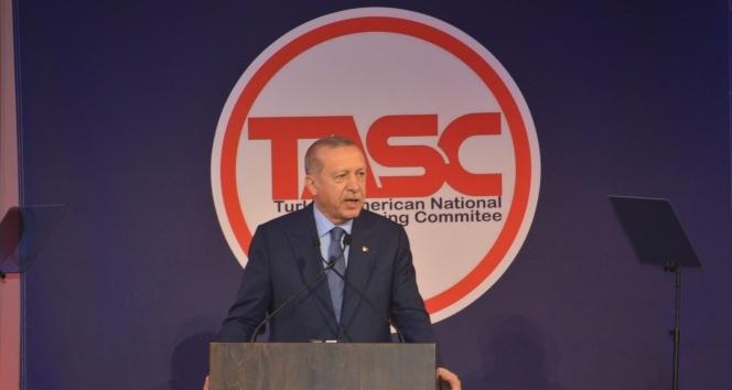 Cumhurbaşkanı Erdoğan ABD'de açıklamalarda bulundu