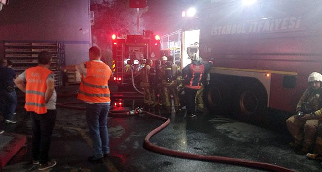 Esenyurt'ta fabrikada yangın