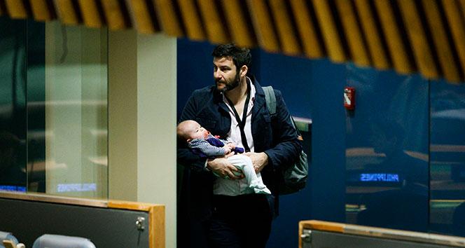 BM Genel Kuruluna bebeğiyle katıldı