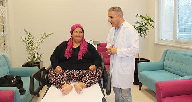 180 kilo kadının hayali hareket edebilmek
