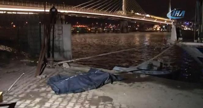 Haliç'ten en az bir aylık ceset çıktı