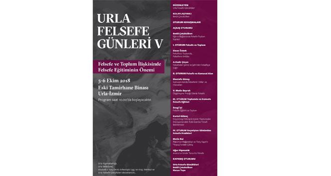 Felsefeciler Urla'da buluşacak