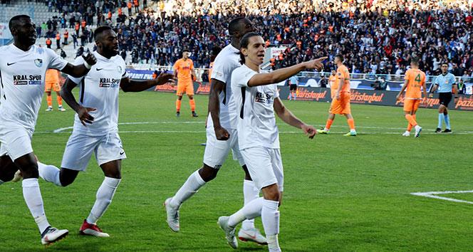 Erzurumspor, ilk 3 puanını tek golle aldı