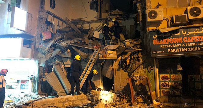 Bahreyn'de bina çöktü: 25 yaralı