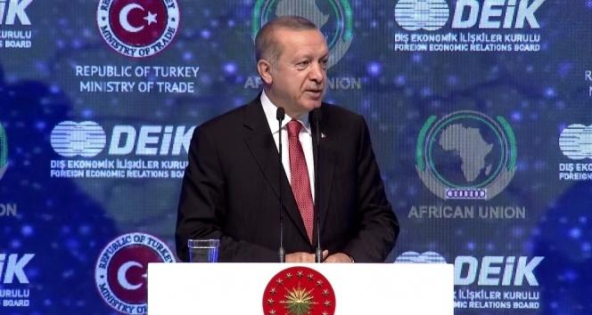 Cumhurbaşkanı Erdoğan'dan Afrika'ya 'milli para' ile ticaret çağrısı