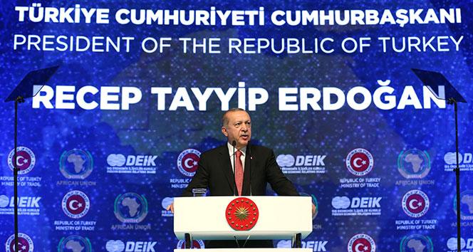 Cumhurbaşkanı Erdoğan: 'Bunun adı neokolonyalizm'