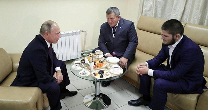 Putin, Nurmagomedov ile bir araya geldi