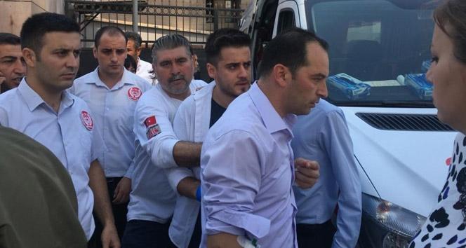 İzmir adliyesi'nde gaz kaçağı