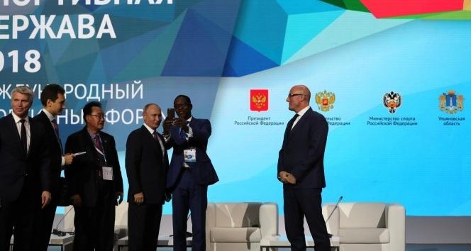 Putin 'Kendi spor organizasyonlarımızı düzenleyeceğiz'
