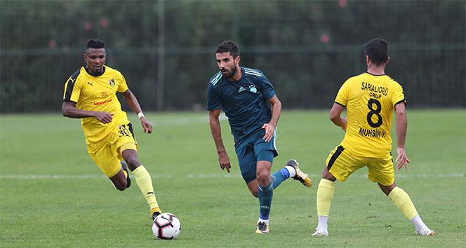 Fenerbahçe, hazırlık maçında İstanbulspor'u 3-0 mağlup etti