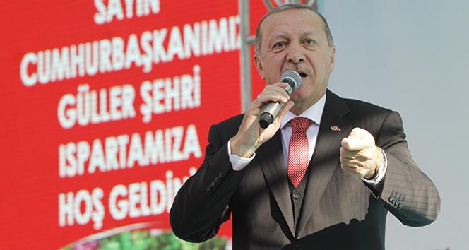 Cumhurbaşkanı Erdoğan'dan önemli açıklamalar: 'Isparta'da 100 kilo altın 5 milyon bulundu'