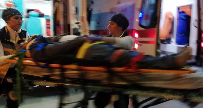 Samsun'da otomobil ile motosiklet çarpıştı: 3 yaralı
