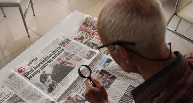 Gazeteleri işte böyle okuyor