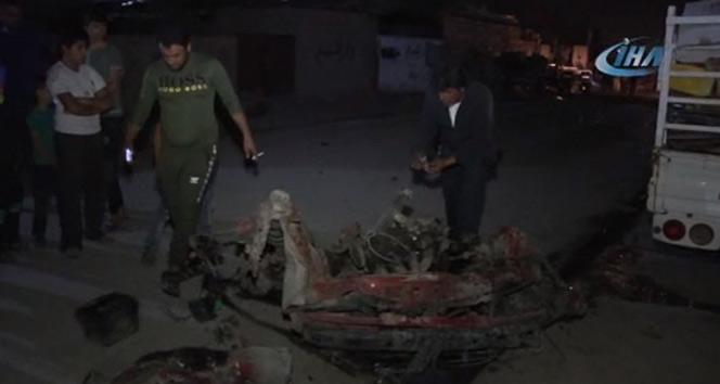 Kerkük'te bomba yüklü araç patladı: 4'ü çocuk 6 yaralı