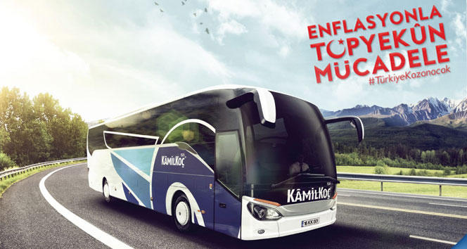 Kamil Koç'tan enflasyonla mücadeleye destek