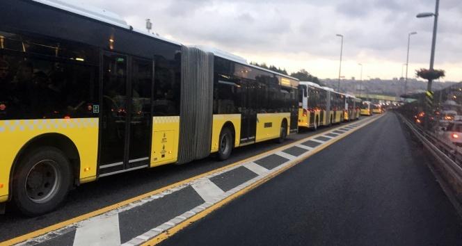 Okmeydanı'nda metrobüs kazası