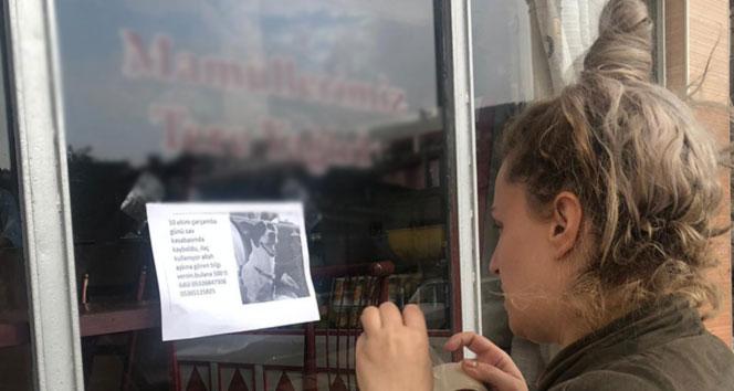 Gözü yaşlı köpek sahibi bu kez çareyi astığı afişlerde arıyor