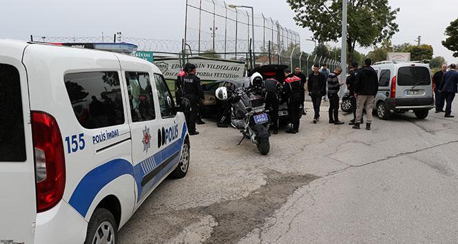Edirne'de hareketli dakikalar! Polisin 'dur' ihtarına uymayınca...