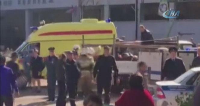 Kırım'daki patlamada ölü sayısı 18'e çıktı