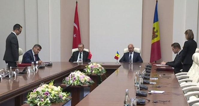 Türkiye ile Moldova arasında işbirliği anlaşması imzalandı