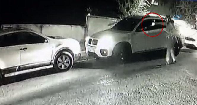 Beykoz'da iş adamının vurulduğu o anlar kamerada