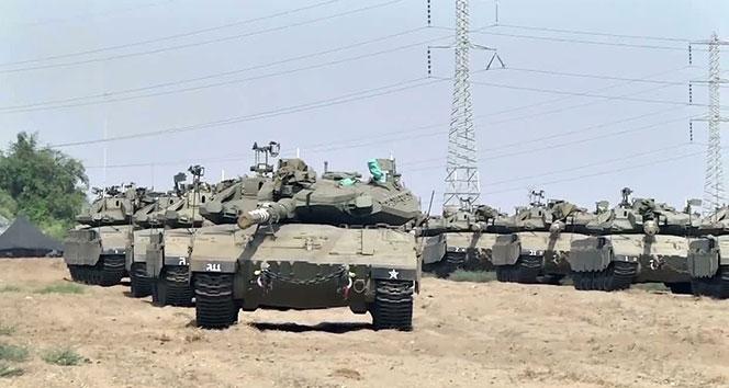 İsrail'den Gazze sınırına tank takviyesi