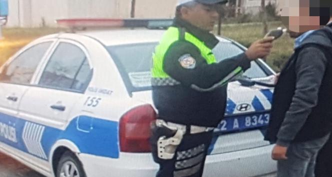 Öğrenci servisinin şoförü alkollü çıktı