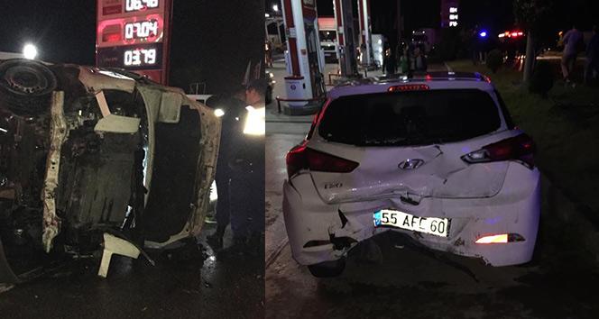 Trabzon'da feci kaza: 1 ölü, 9 yaralı