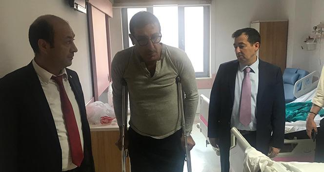 Ünlü oyuncu Cem Özer'in sağlık durumu ile ilgili hastaneden açıklama