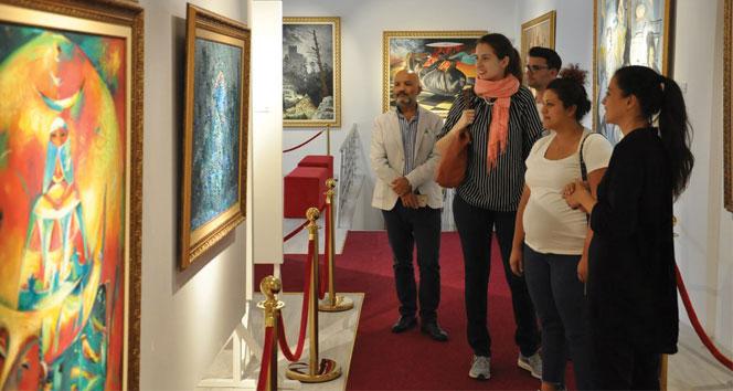 Sanatçılar Kıbrıs Modern Sanatlar Müzesi'nde buluştu