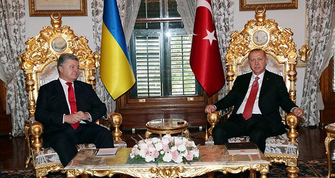 Cumhurbaşkanı Erdoğan: 'Ukrayna ile ilişkilerimizi her geçen yıl daha da güçlendirdik'