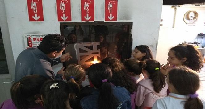 Öğrenciler TSE'yi öğreniyor
