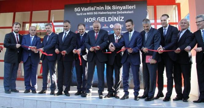 Türkiye'nin 5G Vadisi Açık Test Sahası açıldı
