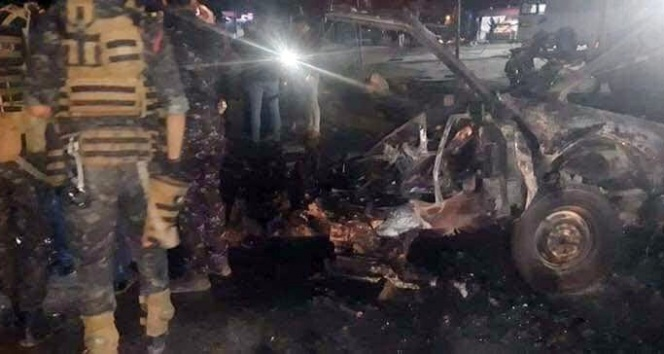 Musul'da patlama: 2 ölü...