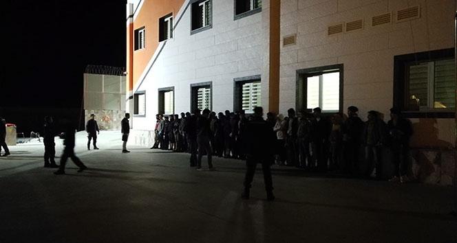 Hatay'da 28 kaçak göçmen yakalandı