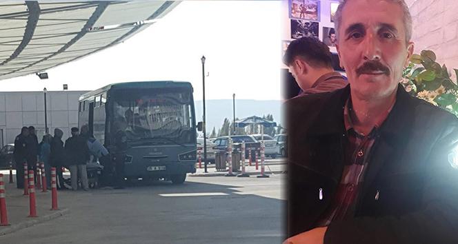 Otobüste baygınlık geçiren kadını kahraman şoför hastaneye yetiştirdi