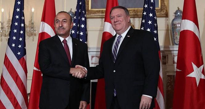 Dışişleri Bakanı Çavuşoğlu, Pompeo ile görüştü!!