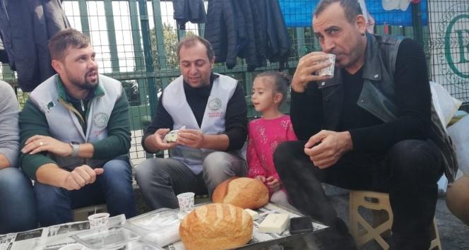 Haluk Levent'ten Cargill işçilerine ziyaret