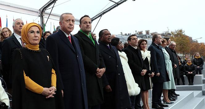 Cumhurbaşkanı Erdoğan'a Paris'teki yoğun ilgi Belçikalı bakanı rahatsız etti