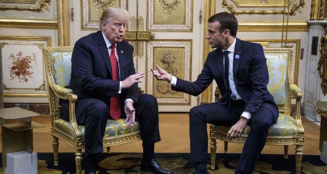 Trump'tan Macron'a ağır eleştiriler: 'Fransa'yı yeniden harika yap'