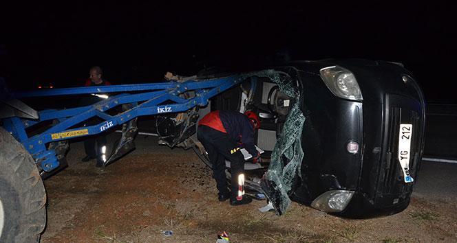 Kozan'da trafik kazası: 3 yaralı...