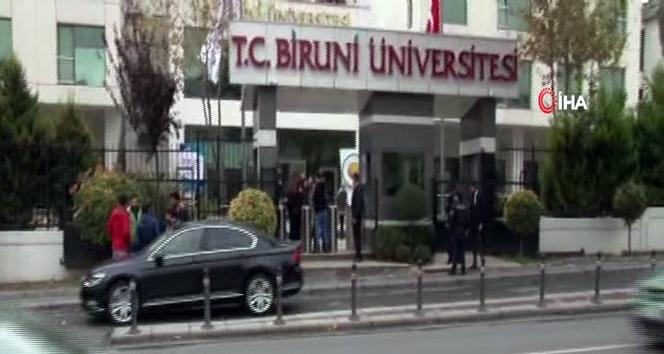 Biruni Üniversitesi'nde patlama!