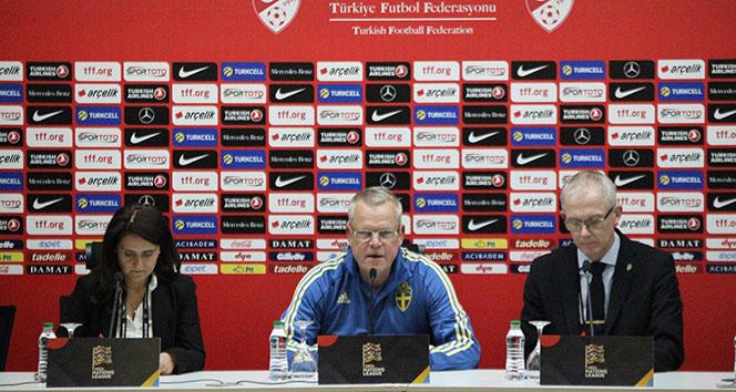 Janne Andersson: 'Takımımız iyi bir performans sergiledi'