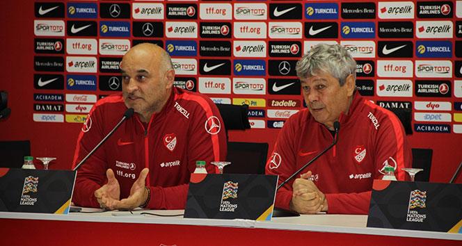 Lucescu: 'Çalışmaya devam'