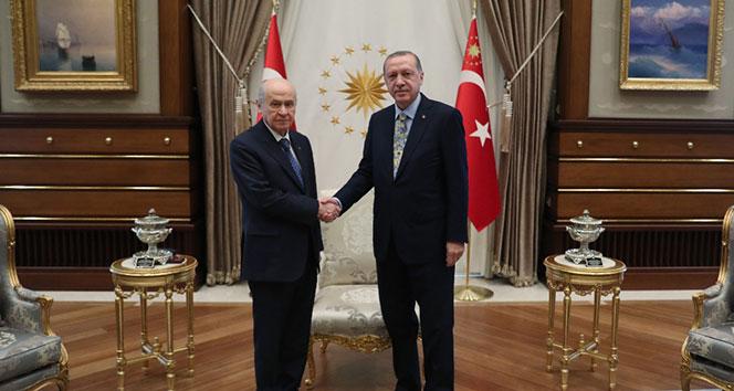 Erdoğan ve Bahçeli bir araya geliyor