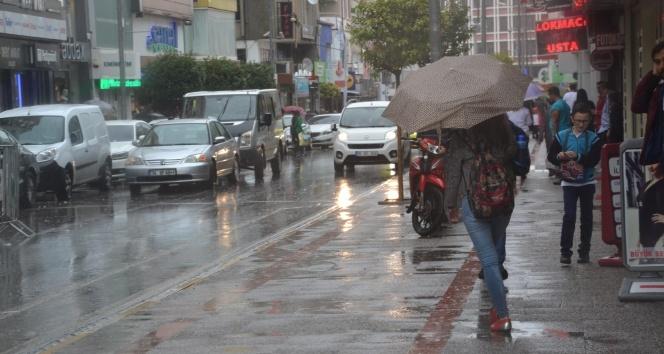 Meteorolojiden Balıkesir için yağış uyarısı