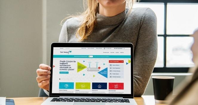 Türk Telekom'dan internet müşterilerine özel pratik çözüm