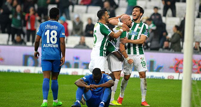 Bursaspor evinde 2 golle kazandı