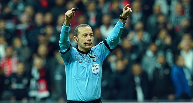Galatasaray - Trabzonspor maçı Cüneyt Çakır'ın