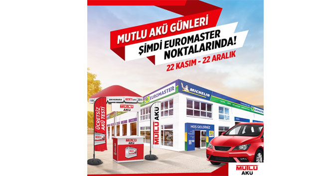 Euromaster ve Mutlu Akü işbirliği